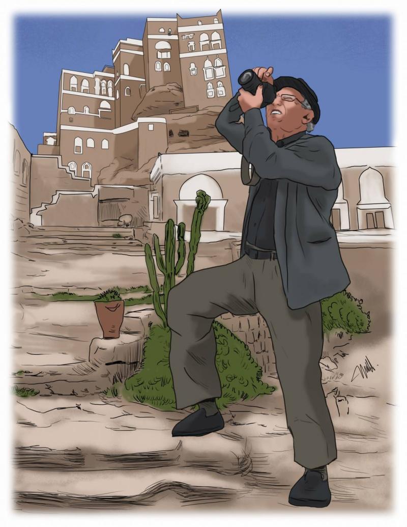 عبدالرحمن الغابري.. ذاكرة اليمن الضوئية