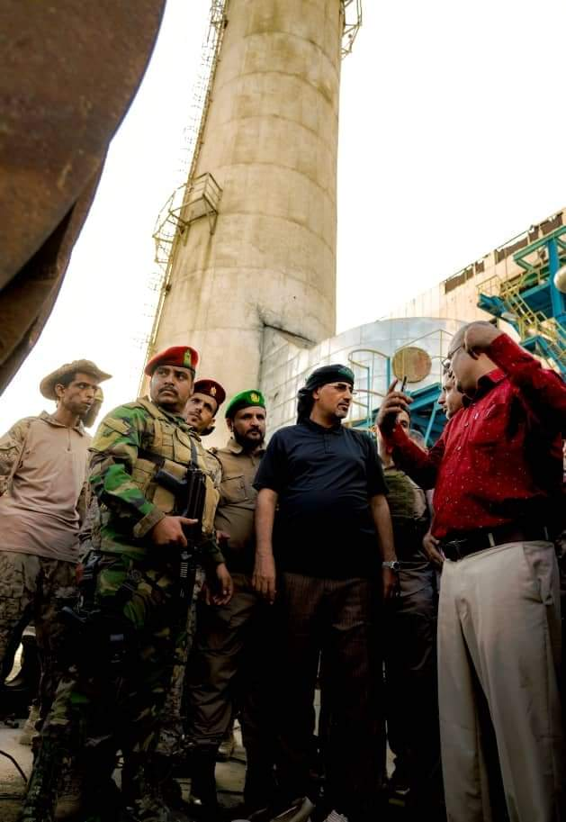 الرئيس القائد عيدروس الزُبيدي يتفقد عددا من المرافق الخدمية في العاصمة عدن