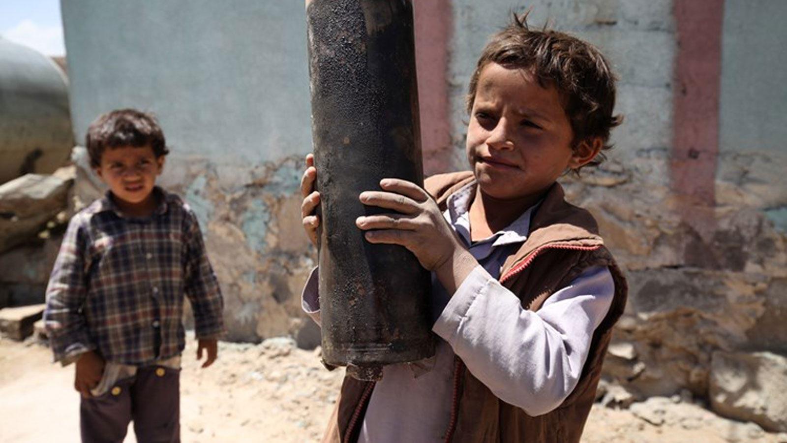 """""""يونيسف"""": 10 آلاف طفل قتلوا أو شوهوا في اليمن منذ 2015"""