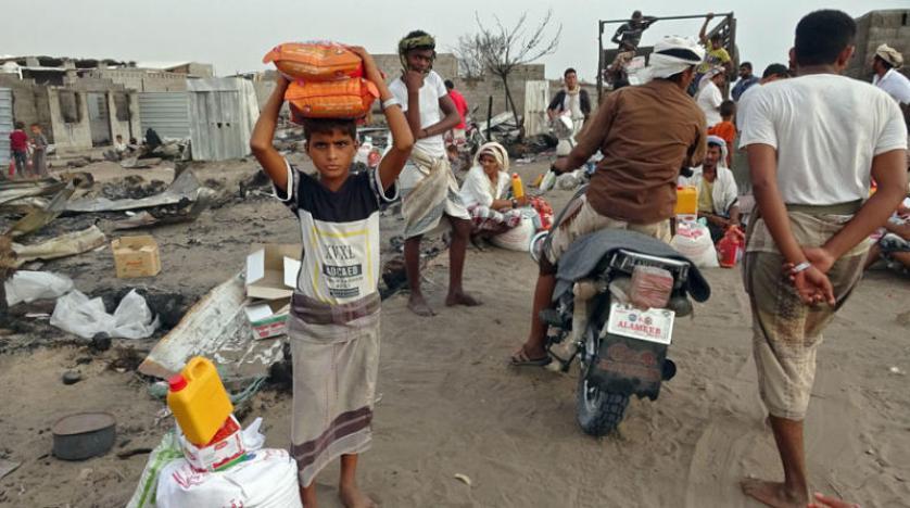 3 ملايين يمني يضافون إلى قائمة المستفيدين من المساعدات الغذائية
