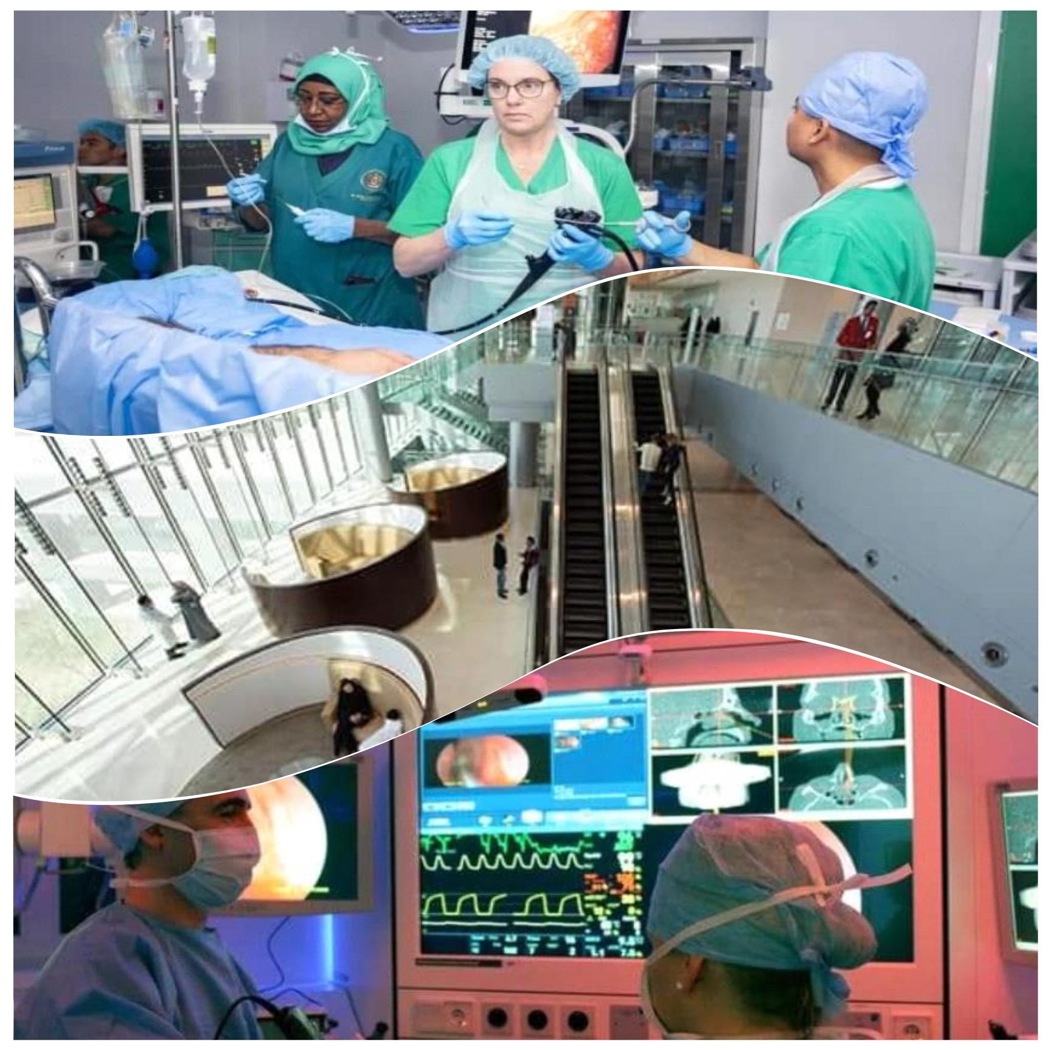 9 عمليات جراحية منها 3 عن بعد بين أبوظبي وبوسطن الامريكية لأسرة سقطرية صور