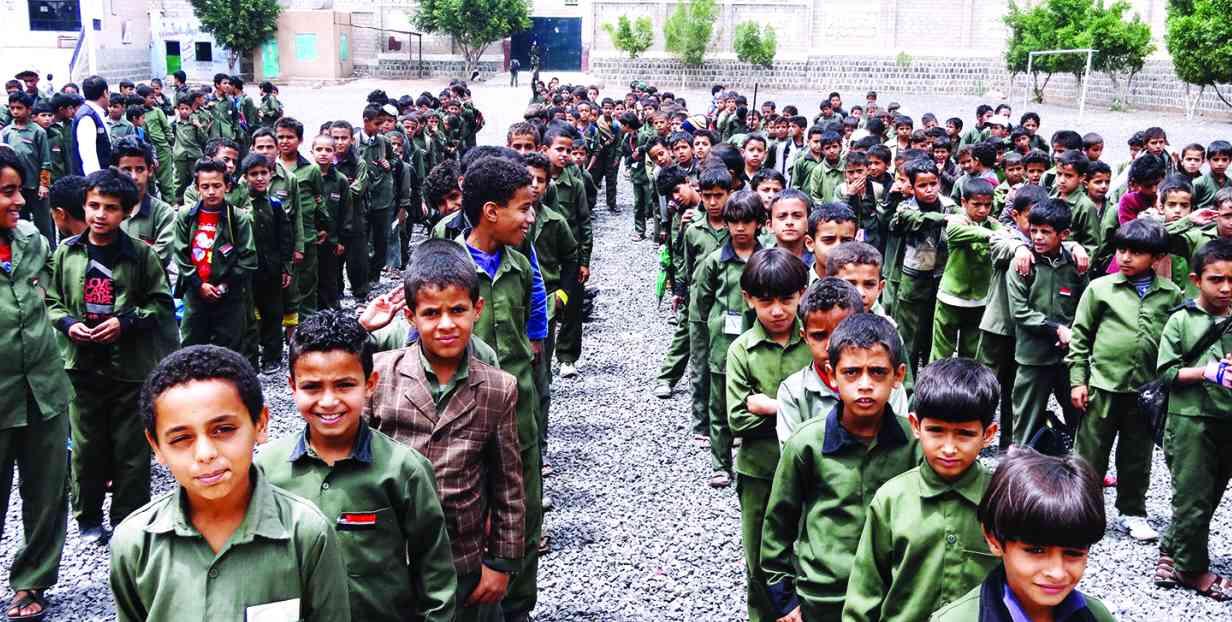 مدارس جنوب مأرب حوّلها الحوثيون إلى مراكز اعتقال